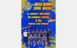 Match Dom SM 1  Elan Basket Perinois